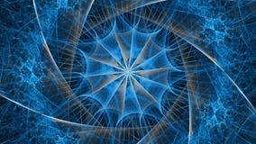 Abstrakt fractalillustration för idérik design Royaltyfri Foto