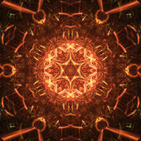 Abstrakt fractalillustration för idérik design Royaltyfria Foton