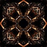 Abstrakt fractalillustration för idérik design Fotografering för Bildbyråer