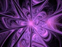 Abstrakt Fractalmodell Arkivfoto