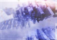 abstrakt frambragd diagramtextur för bakgrund dator Fotografering för Bildbyråer