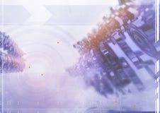 abstrakt frambragd diagramtextur för bakgrund dator Royaltyfri Bild