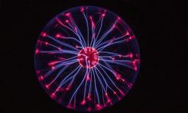 abstrakt frambragd strömtextur för boll dator Arkivbilder