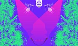 abstrakt framsida Arkivbild