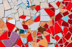 Abstrakt färgrik mosaiktextur Arkivbild