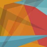 Abstrakt färgrik vektorbakgrund Royaltyfria Bilder