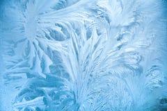abstrakt frost Arkivfoton
