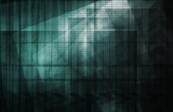 abstrakt futuristic vektor illustrationer