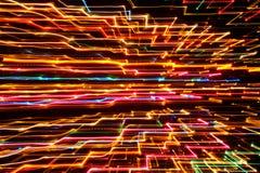 Abstrakt futuristisk glödande bakgrund Arkivfoton