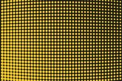 Abstrakt futuristisk rastrerad modell Komisk bakgrund Den prickiga bakgrunden med cirklar, prickar, pekar den stora skalan Svart  Arkivbilder