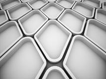 Abstrakt futuristisk struktur från beståndsdelar Fotografering för Bildbyråer