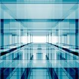 Abstrakt futuristisk tolkning 3d Royaltyfri Bild