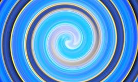 Abstrakt futuristisk virvlande runt cirkel Fotografering för Bildbyråer