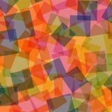 abstrakt fyrkanter för digitallillustrationmodell Arkivbilder