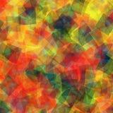 abstrakt fyrkanter för digitallillustrationmodell Arkivfoton