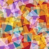 abstrakt fyrkanter för digitallillustrationmodell Royaltyfri Bild