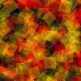abstrakt fyrkanter för digitallillustrationmodell Royaltyfri Fotografi