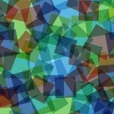 abstrakt fyrkanter för digitallillustrationmodell Royaltyfri Foto