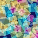 abstrakt fyrkanter för digitallillustrationmodell Royaltyfria Foton