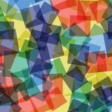 abstrakt fyrkanter för digitallillustrationmodell Fotografering för Bildbyråer