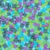 abstrakt fyrkanter för digitallillustrationmodell Arkivfoto