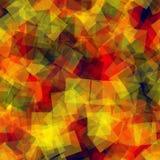 abstrakt fyrkanter för digitallillustrationmodell Royaltyfria Bilder