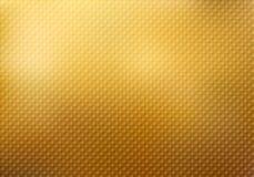 Abstrakt fyrkantmodelltextur på guld- bakgrund vektor illustrationer