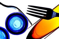 abstrakt gaffel Arkivfoton