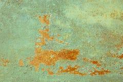 Abstrakt gammal rostig textur för skalningsmålarfärgmetall Arkivbild