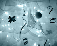 Abstrakt garnering för nytt år Royaltyfri Foto