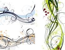 abstrakt garneringset Royaltyfri Fotografi
