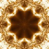 abstrakt gemlampa Arkivbild