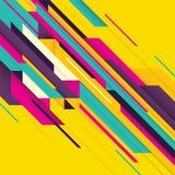 Abstrakt geometribakgrund f?r webbsida eller landningsida stock illustrationer