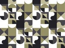 Abstrakt geometribakgrund med cirklar Fotografering för Bildbyråer
