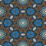 Abstrakt geometrimosaikillustration Arkivfoton