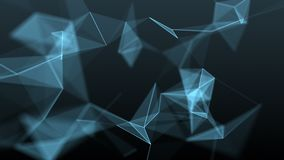 Abstrakt geometrisk bakgrund stock video