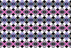 Abstrakt geometrisk bakgrund Arkivfoton
