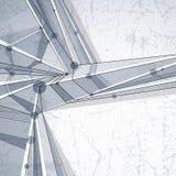 Abstrakt geometrisk bakgrund för vektor, illustr för modern stil Arkivfoto