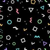 Abstrakt geometrisk bakgrund, geometriformer gjorde vid trianglar royaltyfri illustrationer
