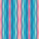 Abstrakt geometrisk bakgrund i rosa färg- och blått-gräsplan färger seamless vektor för modell stock illustrationer