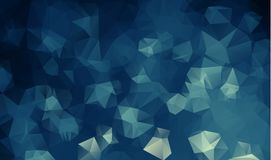 Abstrakt geometrisk bakgrund med polygoner Informationsdiagramsammansättning med geometriska former Retro etikettdesign Royaltyfri Foto
