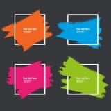 Abstrakt geometrisk bakgrund med utrymme för din text Arkivbilder
