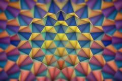 abstrakt geometrisk bakgrundsfärg Fotografering för Bildbyråer