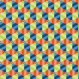 Abstrakt geometrisk bakgrundsillustration Arkivfoton