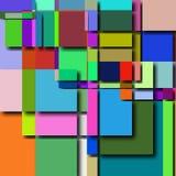 Abstrakt geometrisk bakgrundsmodell royaltyfri illustrationer