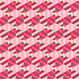 Abstrakt geometrisk bakgrundsvektor Royaltyfri Fotografi