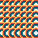 Abstrakt geometrisk bakgrundsvektor Royaltyfri Bild