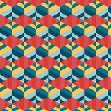Abstrakt geometrisk bakgrundsvektor Arkivbilder