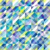 Abstrakt geometrisk bakgrundsvektorillustration Royaltyfri Bild
