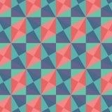Abstrakt geometrisk bakgrundsvektorillustration Arkivfoto